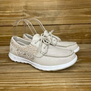 Skechers On The Go GogaMax Boat Shoes